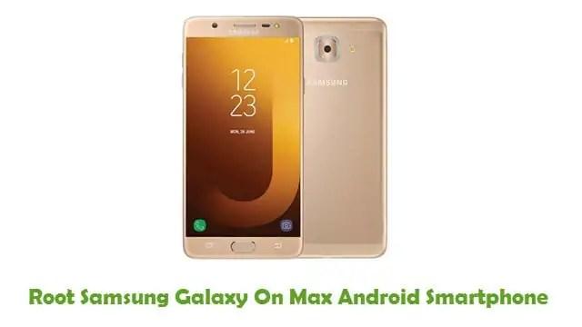 Root Samsung Galaxy On Max