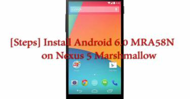 [Steps] Install Android 6.0 MRA58N on Nexus 5 Marshmallow