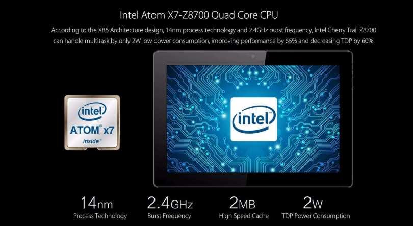 Vido W10 Elite Intel CPU