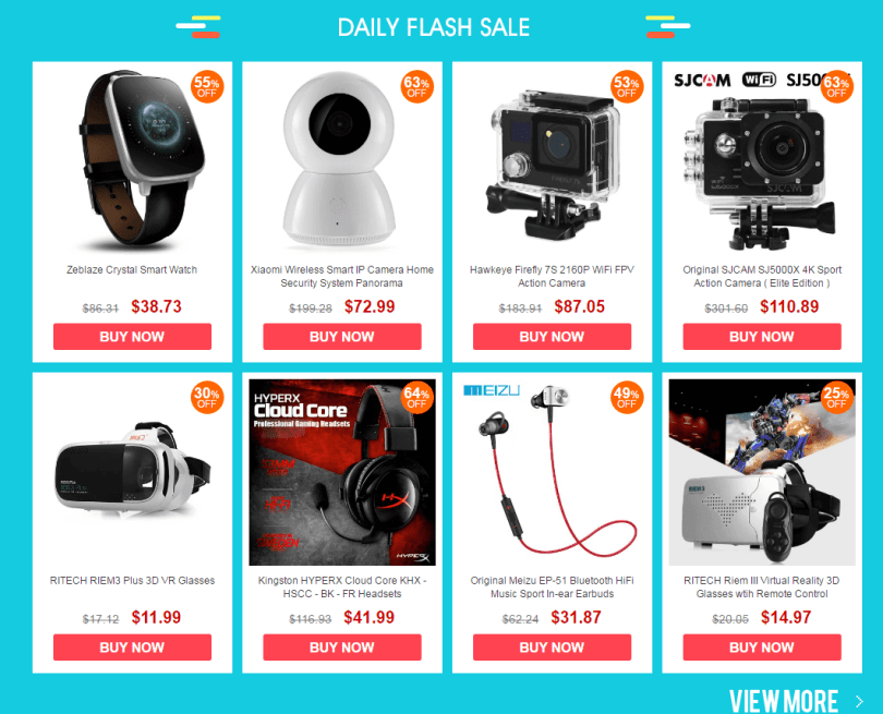 Consumer Electronics Sale-Daily Flash sale
