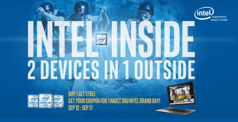 Intel Inside Promotional sale Gearbest