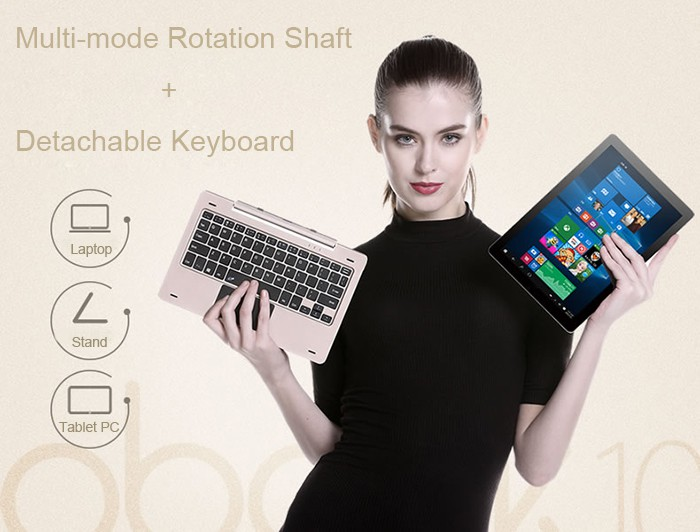Onda Obook 10 keyboard