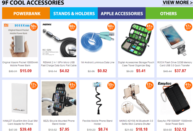 Top Brand accessories sale
