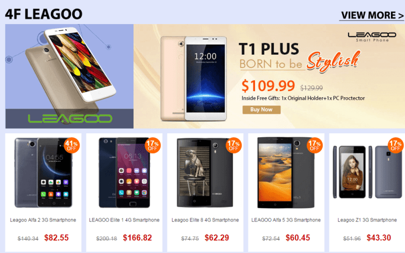 Top Brand Smart Phone Sale-Leagoo