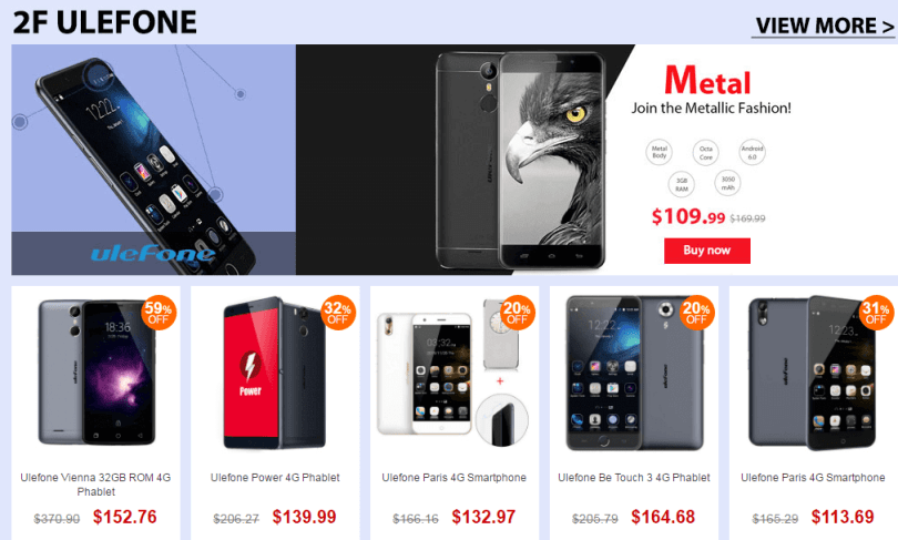 Top Brand Smart Phone Sale-Ulefone