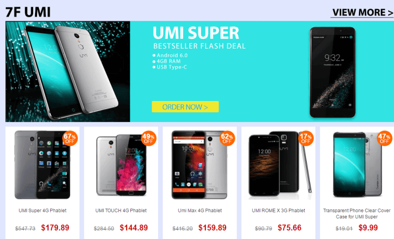 Top Brand Smart Phone Sale- Umi