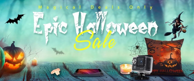Gearbest's Epic Halloween Flash Sale (Upto 70% Off)