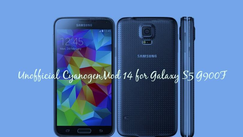 Install CM14 Nougat ROM On Galaxy S5 G900F Android 7.0