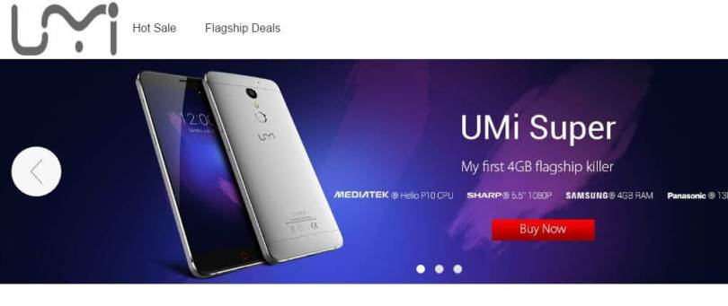 Umi Brand Store Promotional Sale