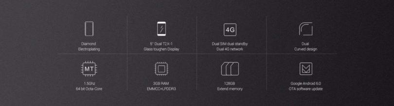 UMi Diamond 4G Smartphone Battery