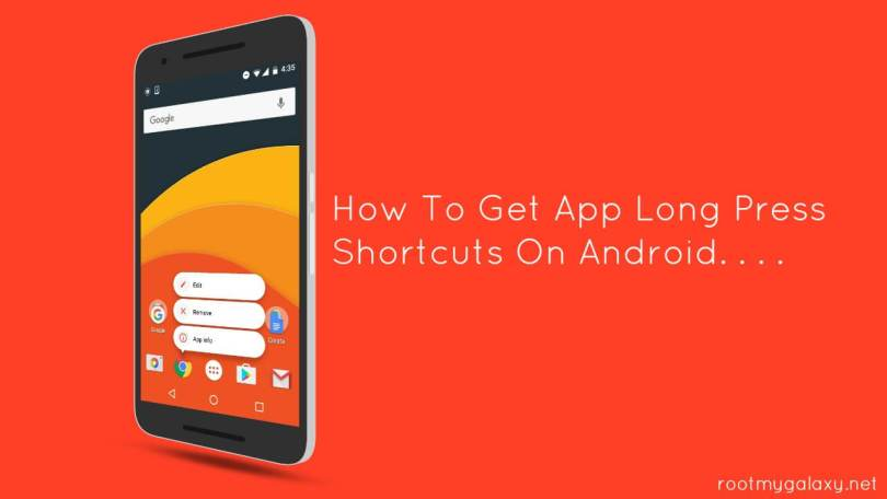 Get App Long Press Shortcuts On Android
