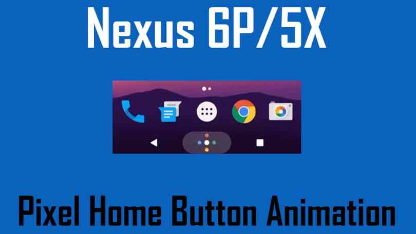 Get Pixel's Home Button Animation on Nexus