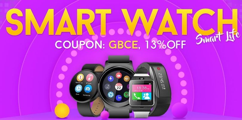 Gearbest's Best Smartwatch Flash Sale (Starting From $18)