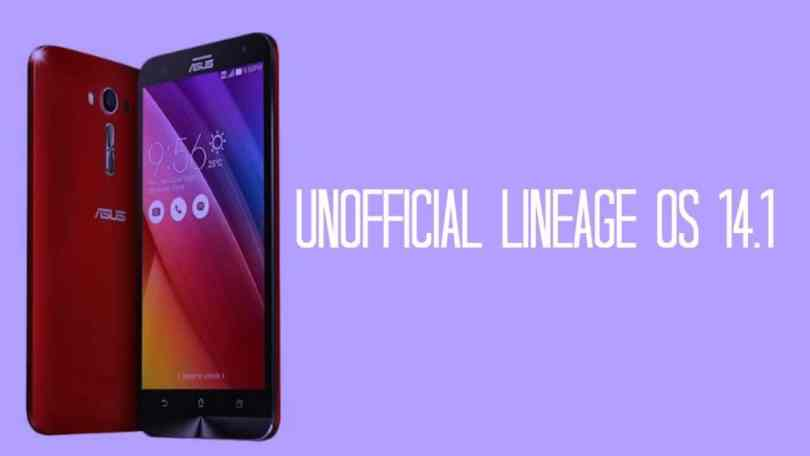 Unofficial Lineage Os 14.1 On Asus Zenfone Laser 2