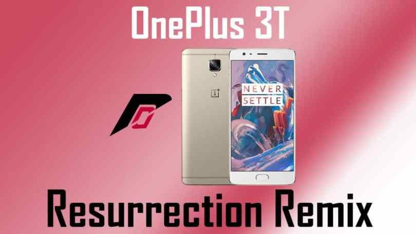Install Resurrection Remix on OnePlus 3T