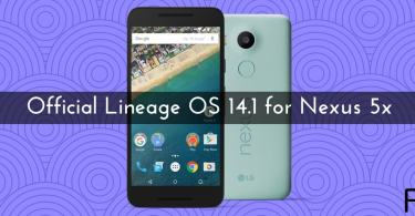 Official Lineage OS 14.1 for Nexus 5x