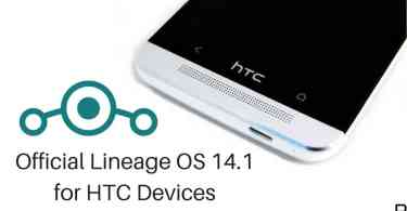 Lineage OS 14.1 on HTC Devices