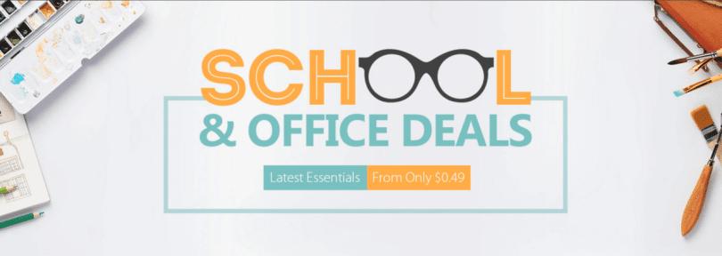 Gearbest School and Office deals