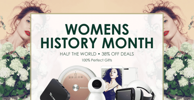 Women's History Month Promotional Sale (Upto 50% Off)
