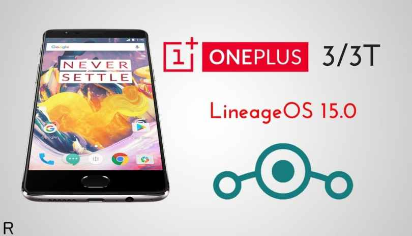 LineageOS 15.0 for OnePlus 3