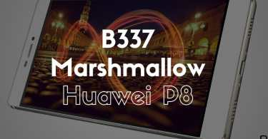 B337 Marshmallow on Huawei P8