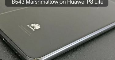 B543 Marshmallow on Huawei P8 Lite