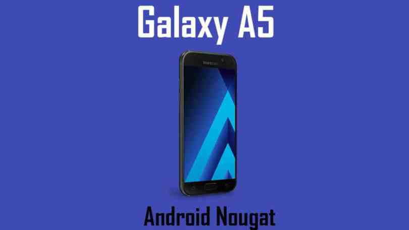 Download and Install Galaxy A5 (2016) (SM-A510M) A510MUBS3CQF2 Android 7.0 Update