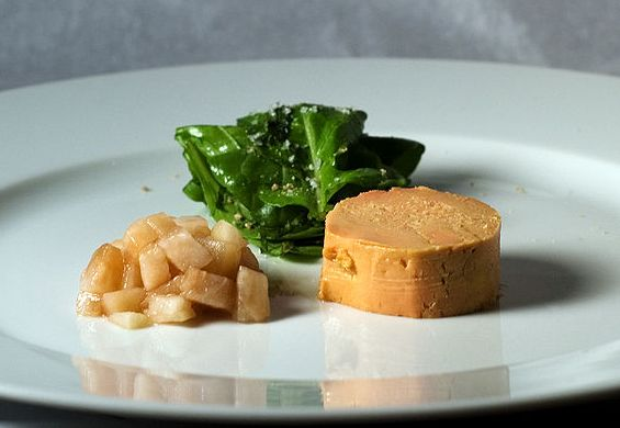 Foie gras. Or is it? Chew on that one for a bit.
