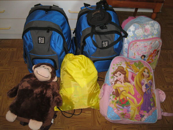 This is all we packed for seven weeks in Mexico.