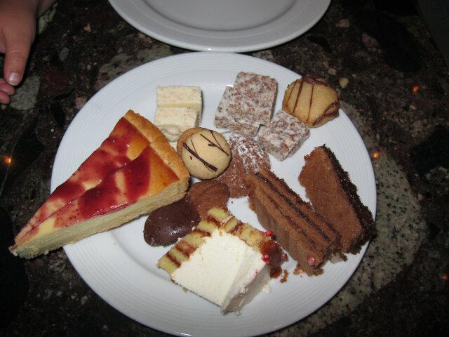 Strawberry cheesecake,