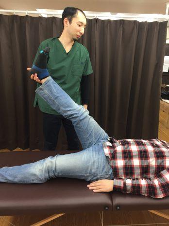 仙台で肉離れに筋膜を施術する整体