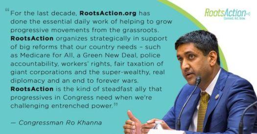Ro Khana Full Quote