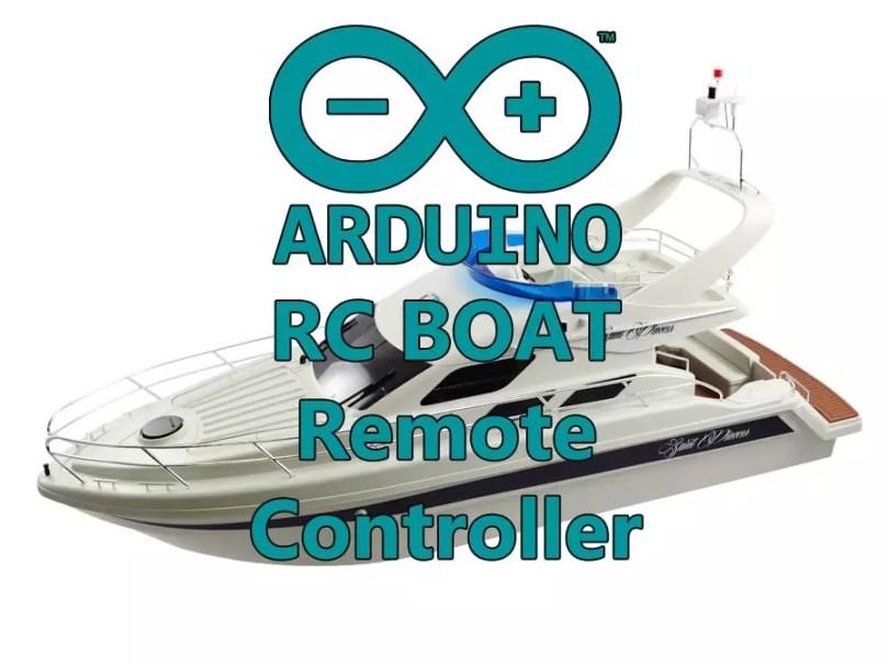 Boat remote controller
