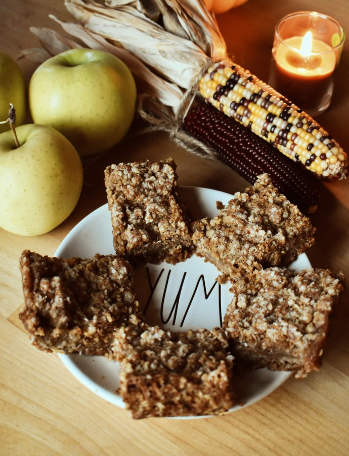 Fall Fun Day 2020 (feat. Apple Oat Crumble Bars)