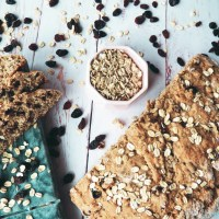 Vegan Amish Oatmeal Bread with Raisins