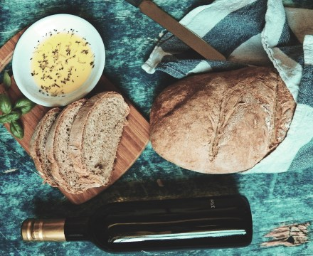 Whole Wheat French Bread {Vegan}