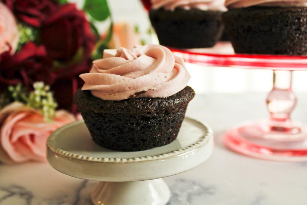 Sangiovese Chocolate Cupcakes