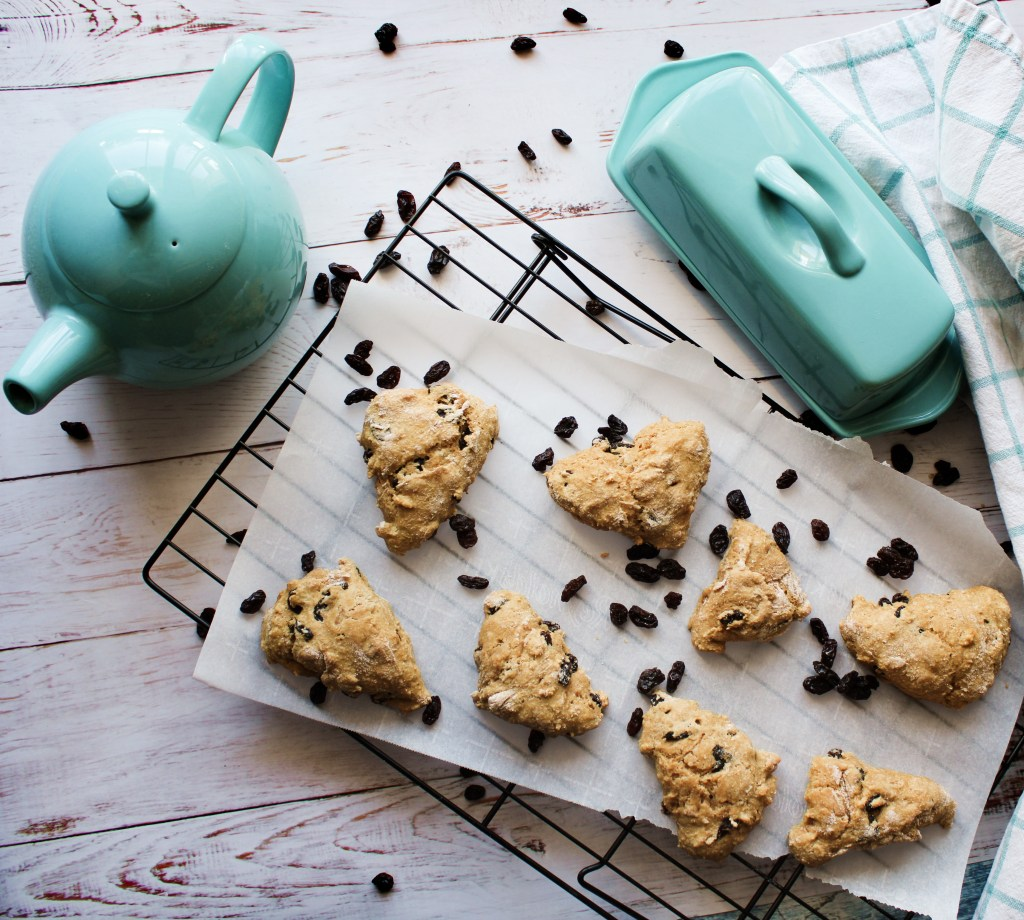 Irish soda scones