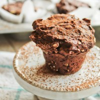 Gluten-Free Chocolate Protein Muffins