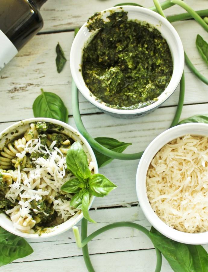 Nut Free Parmesan Pesto