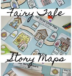 Story Maps: Teaching with Fairy Tales in Kindergarten - Roots and Wings [ 2560 x 1295 Pixel ]