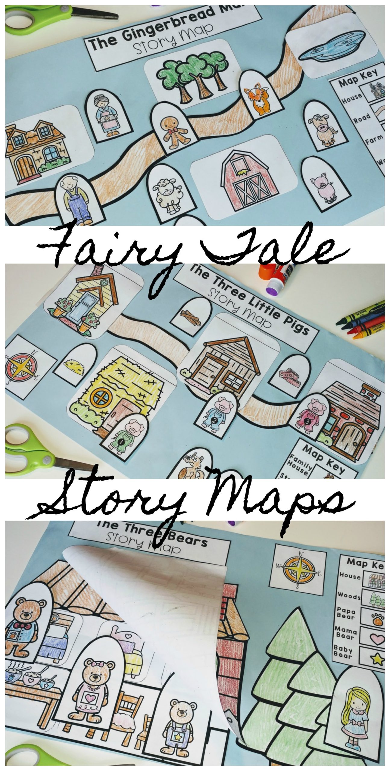 hight resolution of Story Maps: Teaching with Fairy Tales in Kindergarten - Roots and Wings