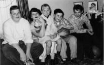 Warren, Virginia, Linda, Gary, David