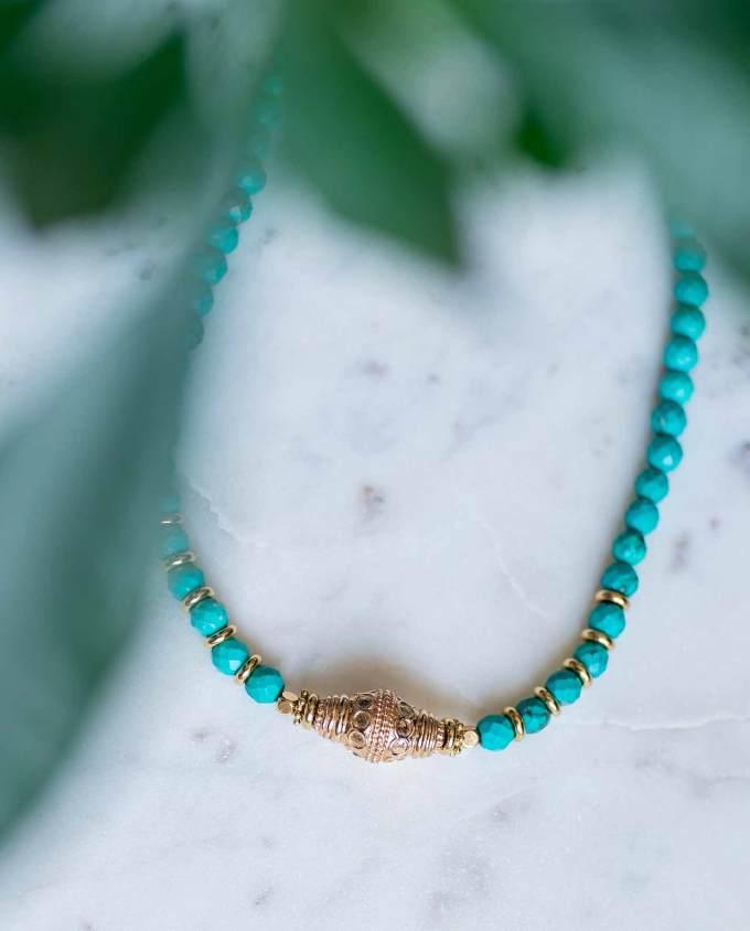 Filicudi turquoise ronde
