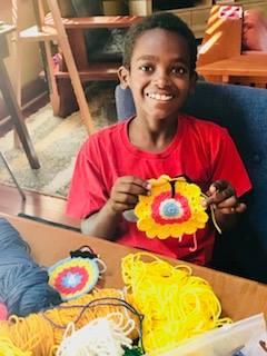 Meet Jonah, an 11-Year-Old Crocheting Prodigy and Budding
