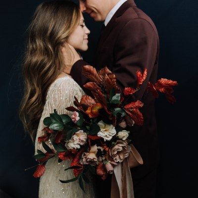 The Perfect Fall Wedding Bouquet