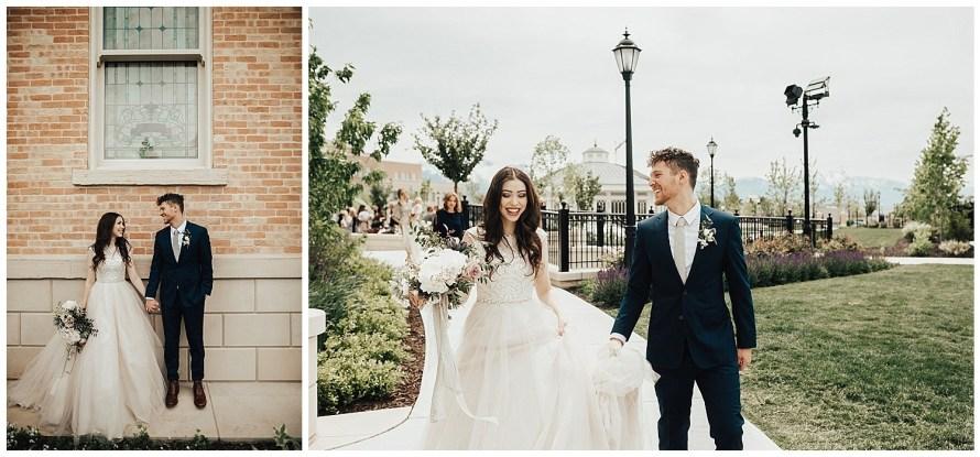 Provo City White Shanty Wedding
