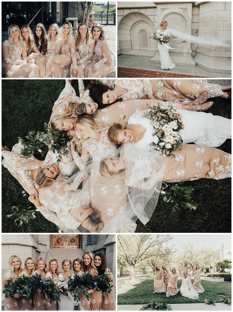 salt lake city temple tracy's aviary wedding