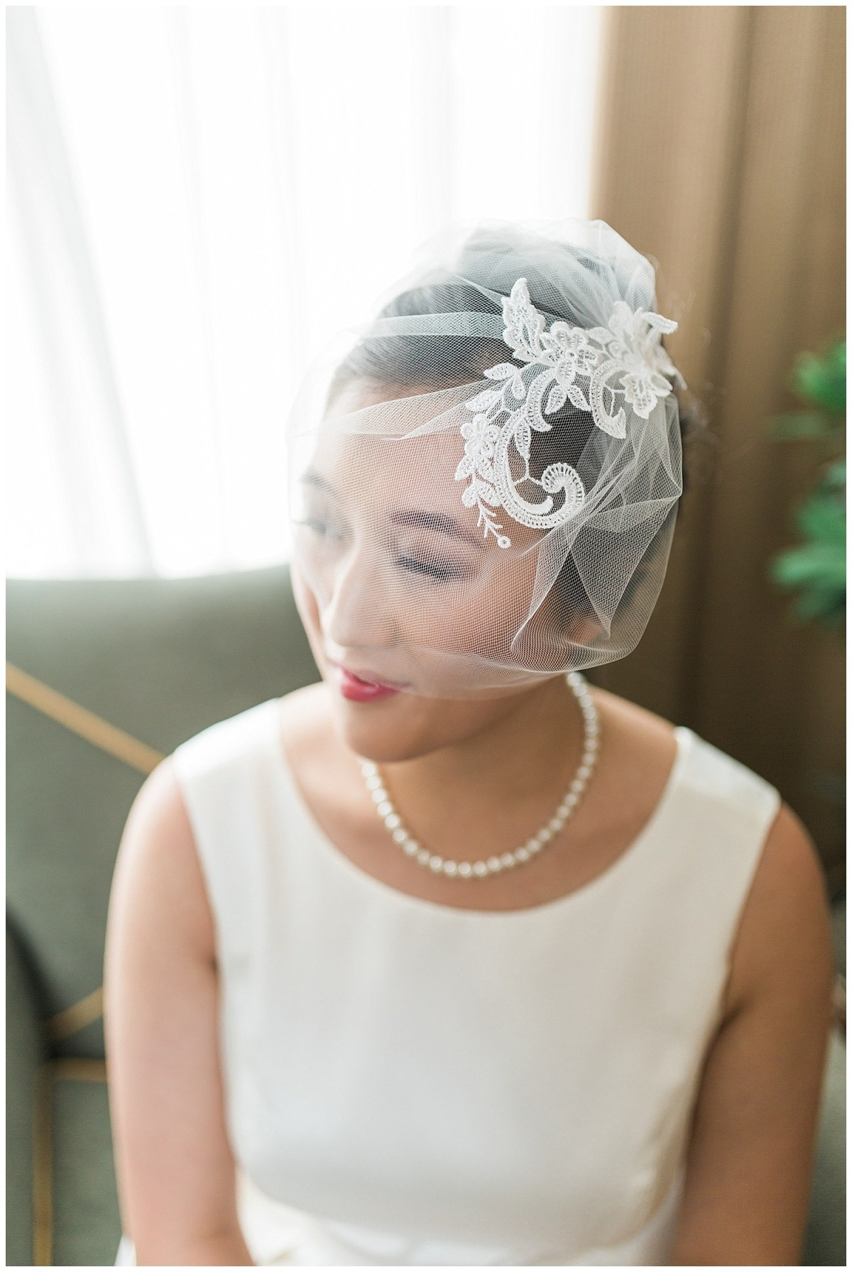 Colorful Summer Wedding Hairstyle