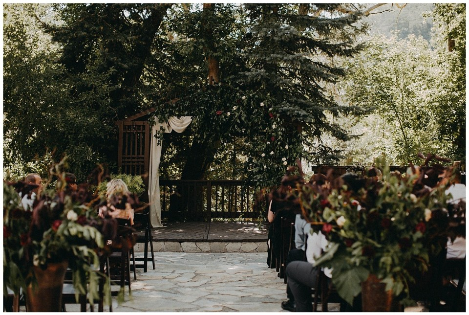 Moody Floral Wedding
